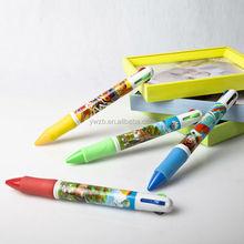 customized cartoon printing colors pen