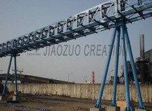 Extremely preformance pipe conveyor system manufacturer form China