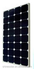 100W Sun power cell glass framed solar panel for Europe