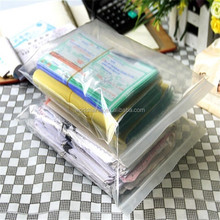Documents packaged! Office used cheap paper packed zipper poly pouch