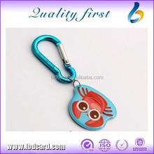Hot Sale HF Ntag213 Shaped Inkjet RFID Silicone Keychain/Keyfob