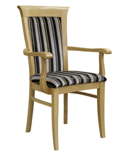 design dining chair with arms HDC1227