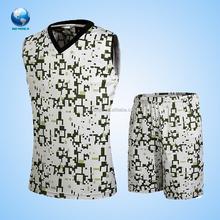Dye palin design custom basketball shorts with pocket sublimation