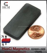 "Ceramic Therapy Magnets C8 1 7/8""X7/8""X3/16"" Hard Ferrite Magnet Block"