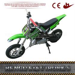 Hot selling good quality 50cc 2 stroke mini dirt bikes