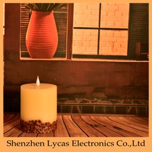 Flameless Battery Operated Candles with Four Hour Auto Timer