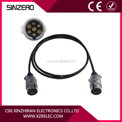 High quality TPU or PVC spiral power cable low voltage spiral truck cable