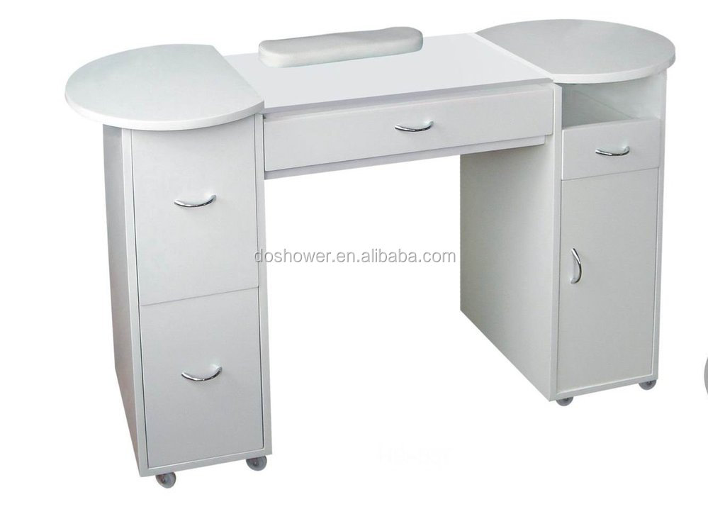Wholesale modern design salon furniture manicure table and for Nail table and chairs