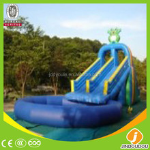 Commercial grade inflatable water slides games children baby toys