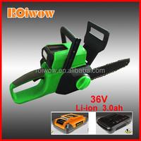 Garden Tools 36V Li-ion Battery Cordless Chainsaws