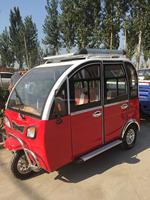 fashion Closed Electric Rickshaw For Passengers