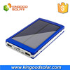 Wholesale price with accessories multifunctional high capacity portable 10000mah solar charger for mobile