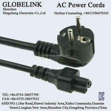 Korea KC AC power cable H05VV-F 3*075mm2 2PIN ICE C8 C7