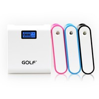 alibaba express in electronics LCD display portable power bank 6600mAh wholesale cell phone accessories