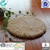 round waterproof 100% polyester microfiber pet mat