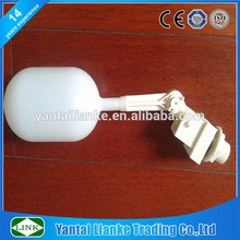 Baja presión cisterna plástico válvula flotación