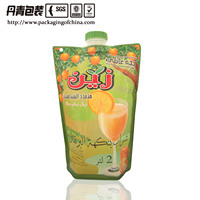 5L stand up pouch with custom size spout