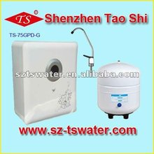 75G white butterfly and flower wall mounted RO water purifier