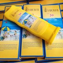 YUERAN body care protein nutrition sunscreen 125g skin care whitening moisturizing sun repair sunscreen cream