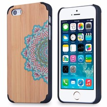 2015 Good quality real wooden case, for wood case iphone 5, custom printing wood case for iphone 5s china manufacturer