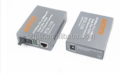 HTB-3100AB hundred trillion single-mode fiber Media Converter conversion (100Mbps)