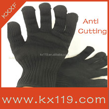 Black cut resist Anti-scratch knife gloves