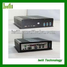 Iwill S100 high-quality all aluminum thin mini itx case