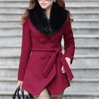 unique women winter coat,European Fashion Winter Wool New Styles Women Coat,