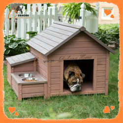 Home new design solid wooden dog outdoor kennel