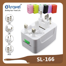 Best selling all in one world travel adapter for singapore promotional gift market from china factory