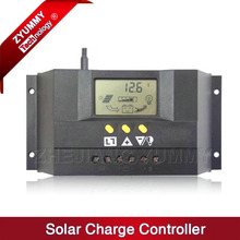 20A 30A 50A 60A PWM 12V 24V 48V solar charge controller LCD Display