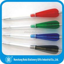 2015 best sell plastic pen cute animal top ballpoint pen rocket shaped pen