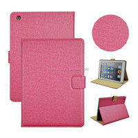 X' MAS 5% Discount!!!Factory Price!Genuine Leather Smart Cover For iPad Air iPad Air 2 Smart Case Fashion Pattern Stand
