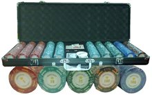 POKER CHIPS SET MONTE CARLO POKER ROOM