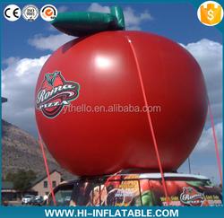Lovely advertising Giant inflatable apple for advertising, inflatable red apple,inflatable friut