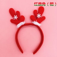 popular christmas decoration lovely head band head buckle deer snowman decoratins christmas gifts