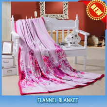 2015 new warm king size coral fleece customized blankets bedspreads