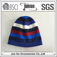 fashion knitted acrylic beanie