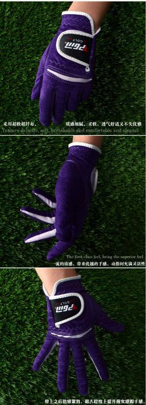 Pgm Lady ' s luvas de golfe - peça ST008