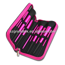 11pcs cosmetic gift,makeup brush kit with pouch,making up brush set