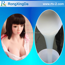 Life casting silicone rubber material for mallu sex human