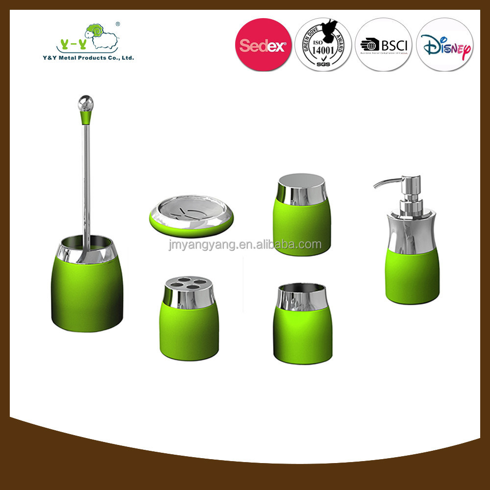 diaphanous colorful luxury wholesale bathroom accessories