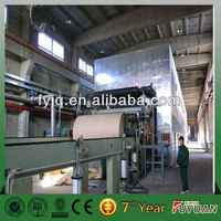 Paper fluting/corrugated roll making machine from Henan Fuyuan