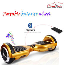 Qeedon best selling 2 wheels scooter self balancing hands free unicycle mini electric teo wheeler