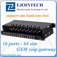 16 port goip sms gateway cisco gsm gateway 64 card