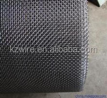 ss304 crimped wire mesh of plain weaving/stainless steel crimped sieving net / wire mesh crimped net / 25mm steel grid