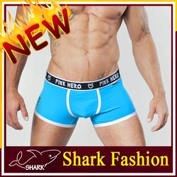 Shark Fashion sexy mans boxers underweear made in china guangzhou