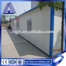 medidor de luz marco de acero casa prefabricada