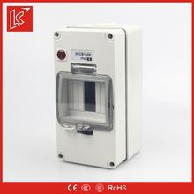 Low price FSCBN series types of electrical distribution box IP66 1gang/2gang/3gang/4P/4gang/6gang/8gang surface mount enclosure