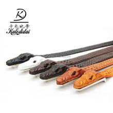 hot sale fashion designer leather belts for adult good quality buckle black casual business men belt
